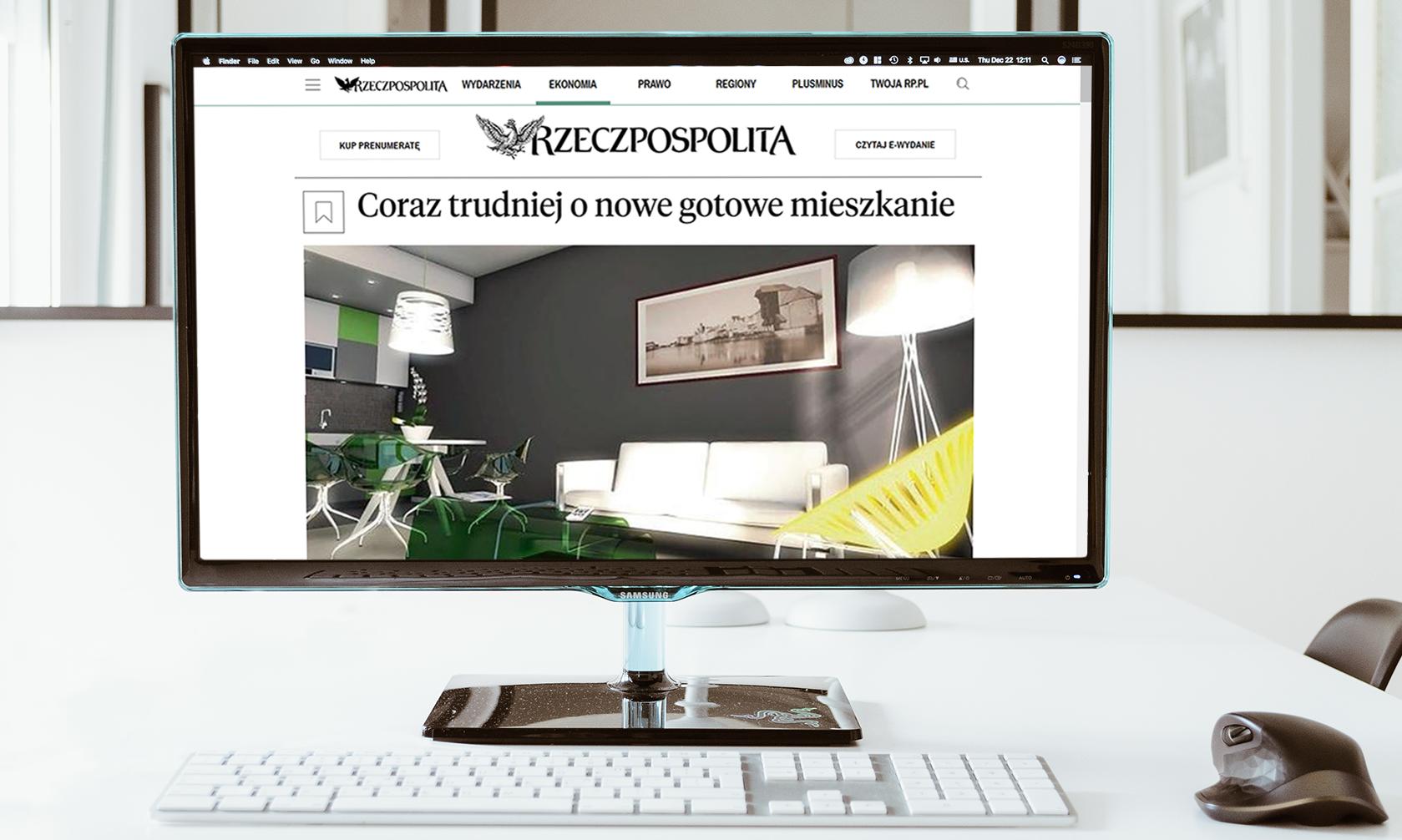 Publikacje marketingowe iPR dladewelopera Sento